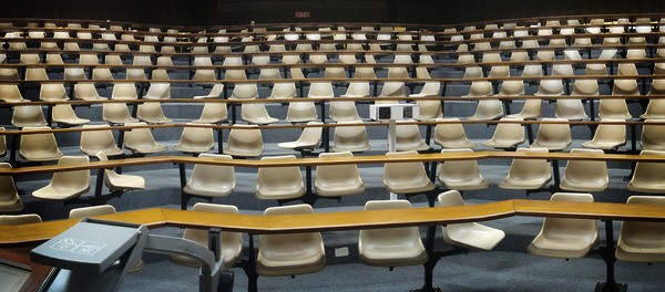 Feature img empty lecture cc IanBarbour