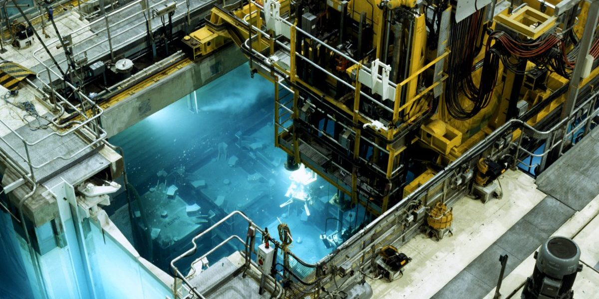 Nuclear reprocessing plant. Image: Getty, Steve Allen
