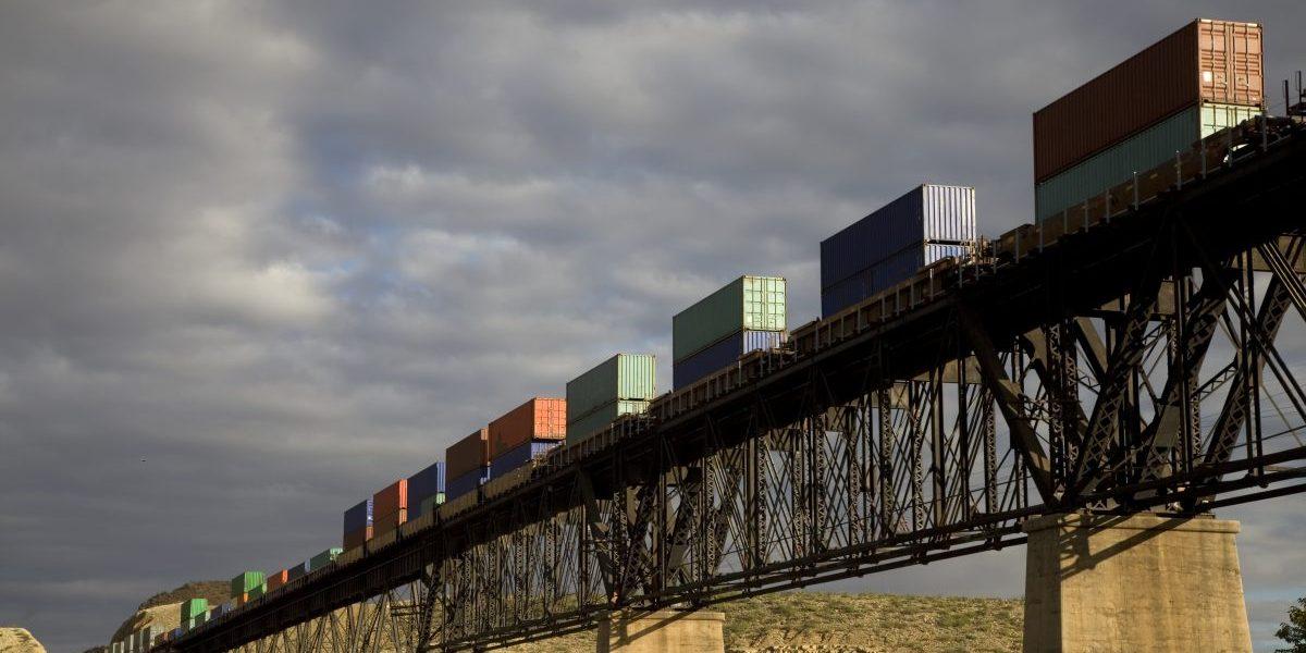 Freight train. Image: Getty, VallarieE