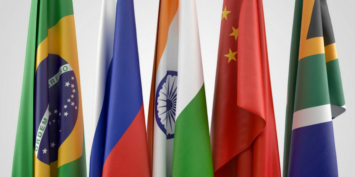 Image: BRICS flags25
