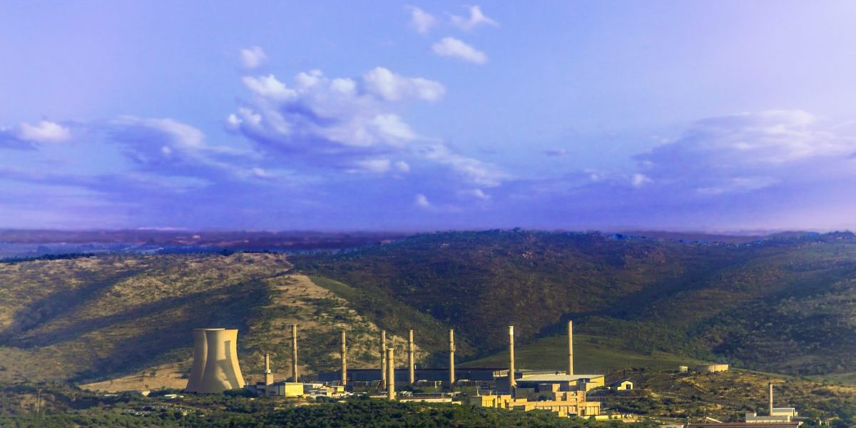 Pelindaba, South Africa's nuclear plant. Image: Getty, The Gift 777