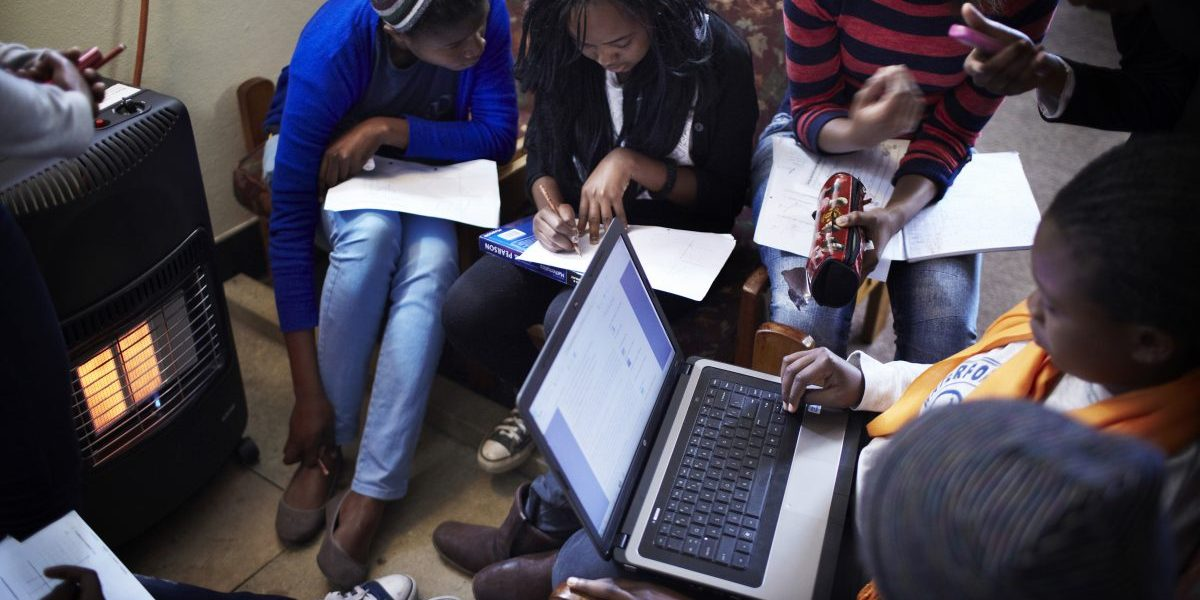 Students study in a library at Waterford Kamhlaba United World College of Southern Africa, a secondary school on August 5, 2013 in Mbabane, Swaziland. Image: Getty,  Per-Anders Pettersson/Contributor