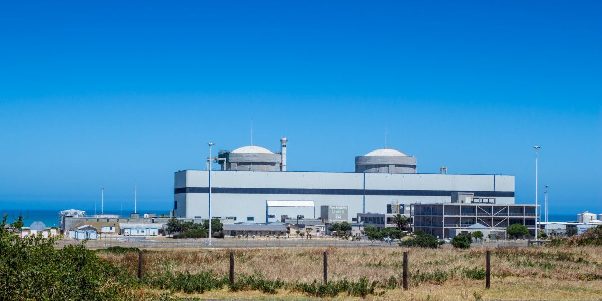 Nuclear power plant, Koeberg, South Africa. Image: Getty, ToscaWhi