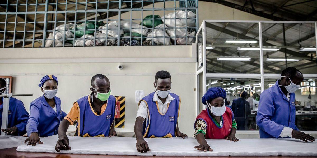 Kenya Factory Workers. Image: Getty, Luis Tato