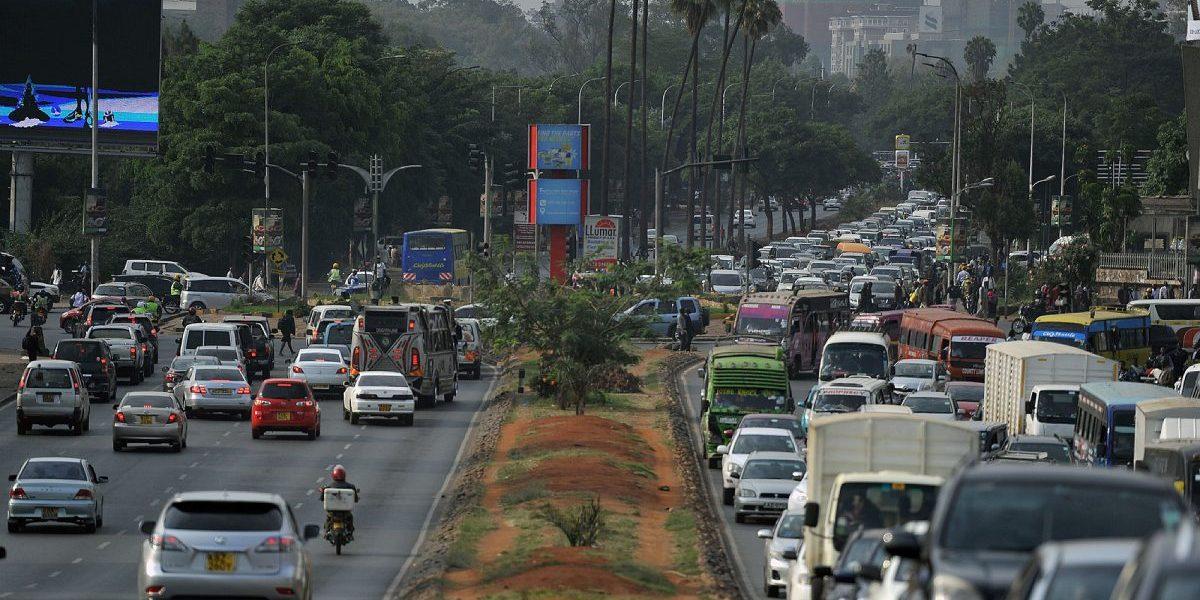 Kenya traffic. Image: Getty, Tony Karumba