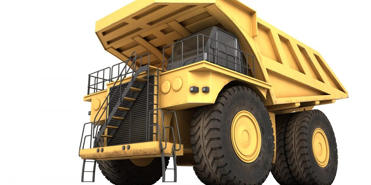 3D of massive mining truck. Image: Getty, Iakovenko