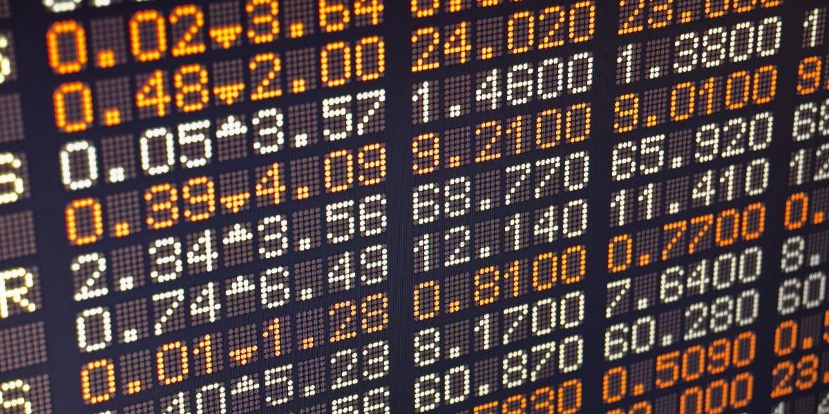 Stock exchange board. Image: Getty, Muhla1
